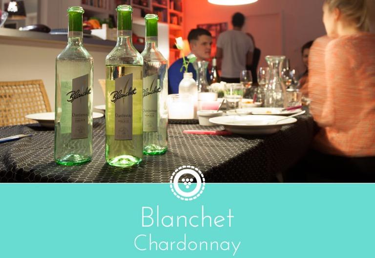 traubenpresse - Header zu dem Wein Blanchet