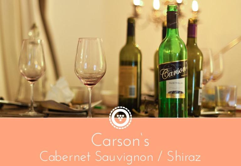 traubenpresse - Header zu dem Wein Carson's