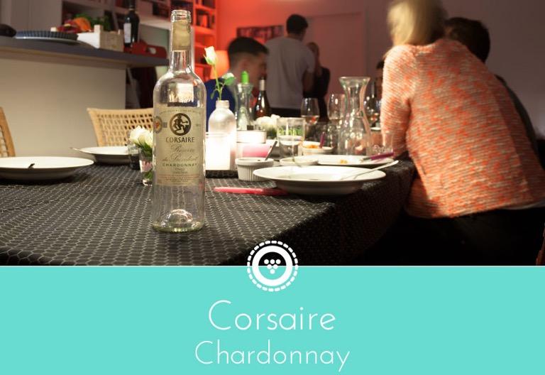 traubenpresse - Header zu dem Wein Corsaire