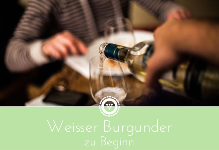 traubenpresse - Header zu dem Weinabend mit Weissburgunder