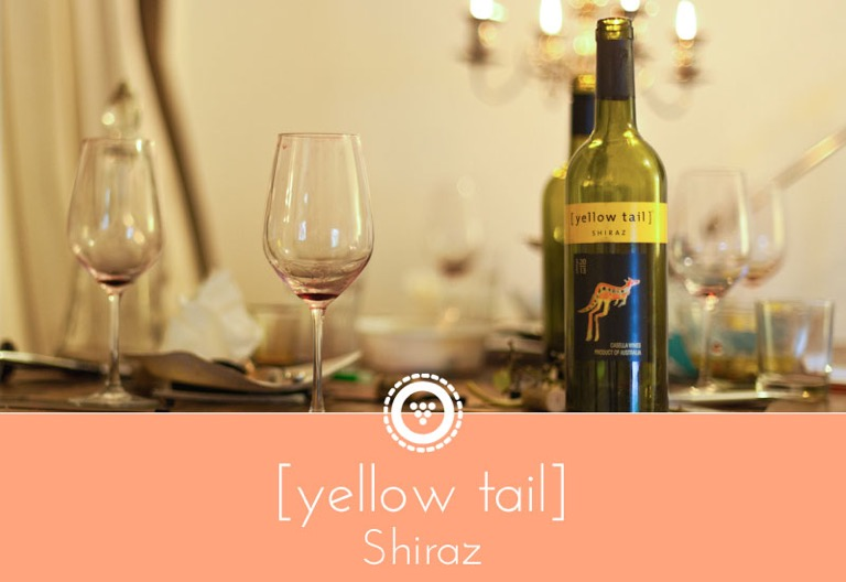 traubenpresse - Header zum Wein [yellow tail] Shiraz