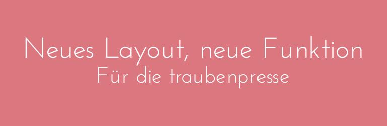 traubenpresse-neues-layout-neue-funktion-head