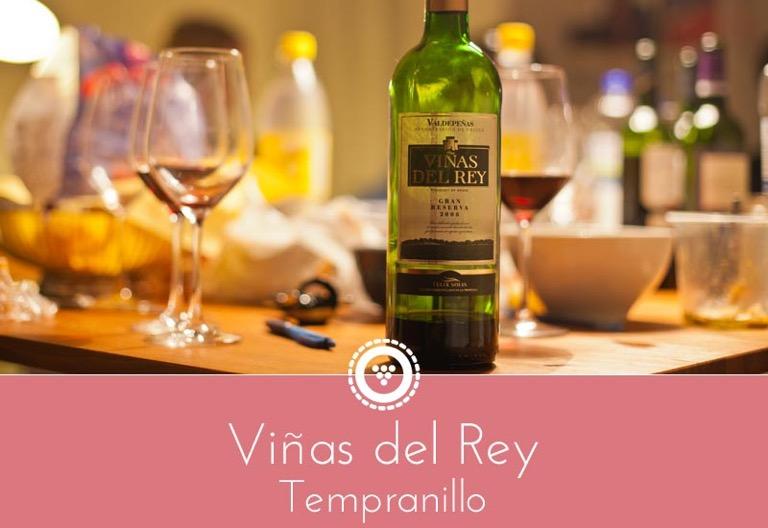 traubenpresse - Header zum Wein Viñas del Rey - Tempranillo