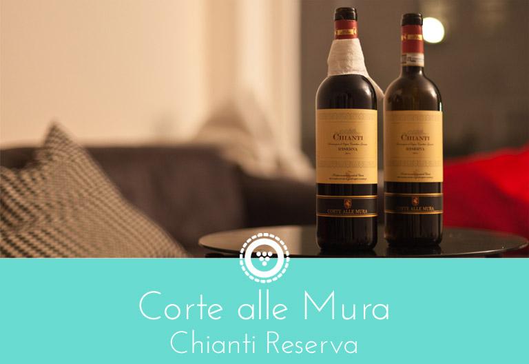 traubenpresse - Header zu dem Wein Corte alle Mura Chianti