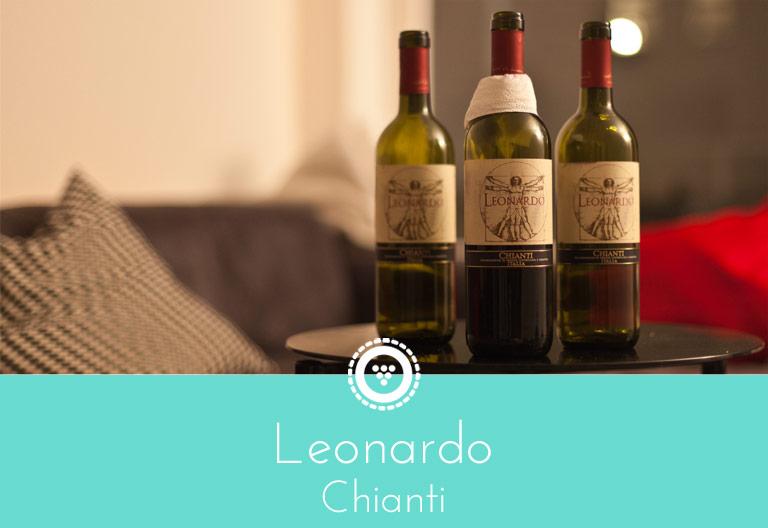 Traubenpresse - Header zu dem Wein Leonardo Chianti