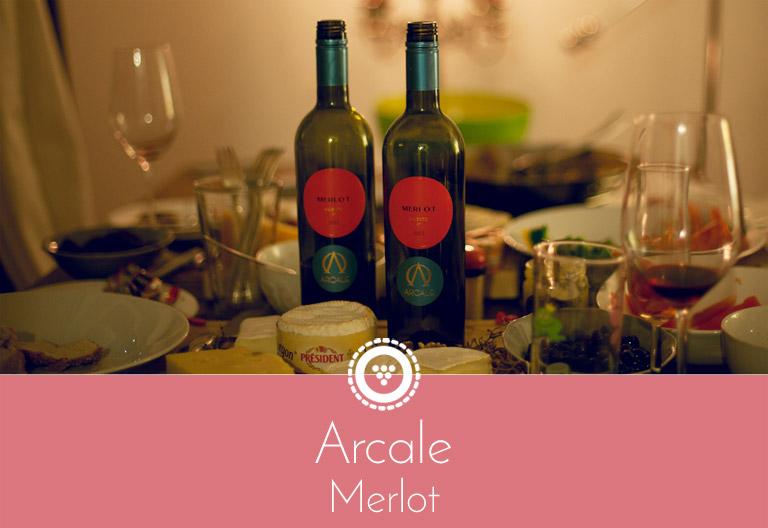 Traubenpresse - Header zu dem Wein Arcale