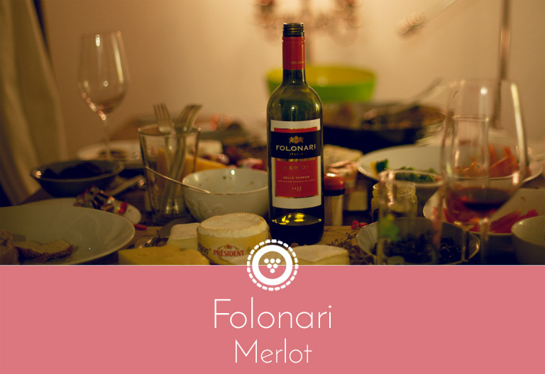 Traubenpresse - Header zu dem Wein Folonari