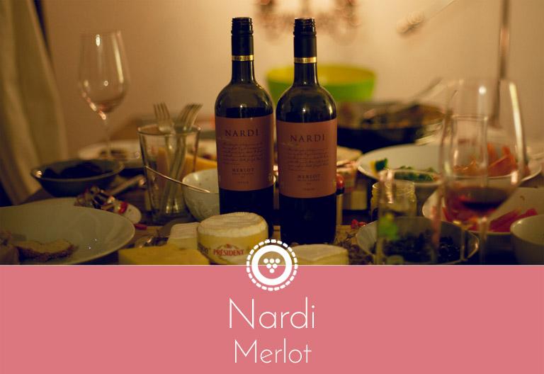 Traubenpresse - Header zu dem Wein Nardi